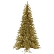 Vickerman 12' Gold/Silver Tinsel Christmas Tree
