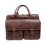 Canyon Outback Leather Sedona Leather Computer Briefcase; Brown
