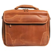Canyon Outback Leather Dakota Pines Leather Briefcase; Tan
