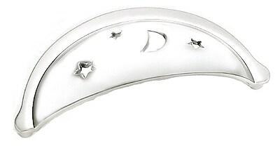 Laurey Celestials Cup/Bin Pull; Polished Chrome WYF078277954070