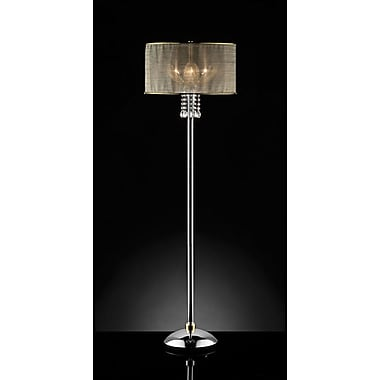 OK Lighting 61'' Floor Lamp