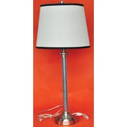 Santa's Workshop Christoff Buffet 30'' H Table Lamp with Empire Shade