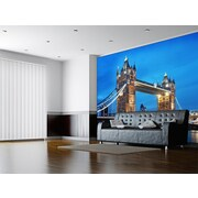 WallPops! Ideal Decor Tower Bridge Wall Mural