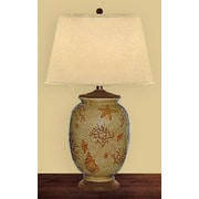 JB Hirsch Evening Tide 30'' H Table Lamp with Empire Shade