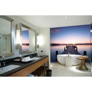 WallPops! Ideal Decor Pier at Sunrise Wall Mural