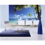 WallPops! Ideal Decor Caribbean Sea Wall Mural