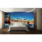 WallPops! Ideal Decor New York East River Wall Mural