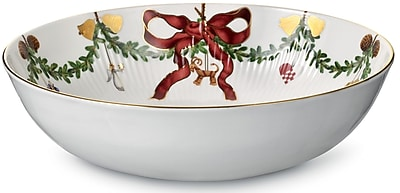 Royal Copenhagen Star Fluted Christmas 104 oz. Bowl WYF078277960496