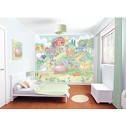 WallPops! Walltastic Wall Art Baby Fun on the Farm Wall Mural