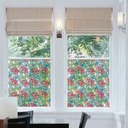WallPops! DC Fix Stained Glass Window Film