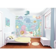WallPops! Walltastic Wall Art Baby Under the Sea Wall Mural