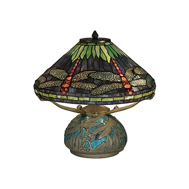Dale Tiffany Dragonfly Medley 17'' Table Lamp