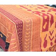 Abigails Bali Batik Brick Handstiched Quilt