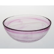 Abigails Stonege Bowl; Hot Pink