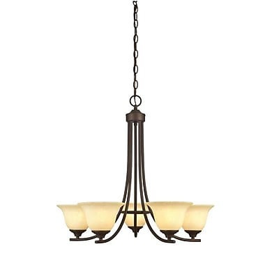 Westinghouse Lighting Kings Canyon 5-Light Shaded Chandelier