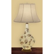 JB Hirsch Morning Light 32'' H Table Lamp with Bell Shade
