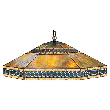 Meyda Tiffany Mission 3 Light Bowl Pendant