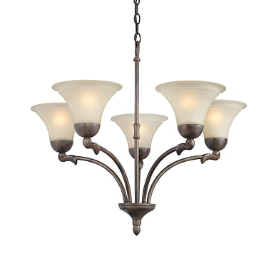 Woodbridge Darien 5-Light Shaded Chandelier