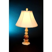 Lex Lighting Chartreuse 21.25'' H Table Lamp with Bell Shade