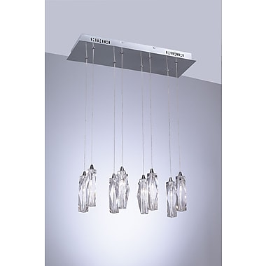 PLC Lighting Pila 8 Light Pendant