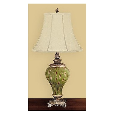 JB Hirsch Oakheaven Palace 32'' Table Lamp