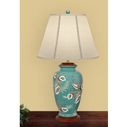 JB Hirsch 31'' H Table Lamp with Empire Shade