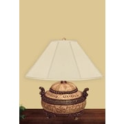 JB Hirsch Incense Dresser 21'' H Table Lamp with Empire Shade