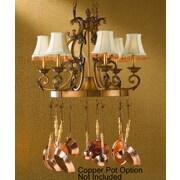Classic Lighting Asheville 6 Light Island-Billiard Light