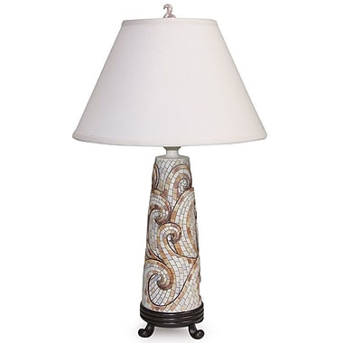 Island Way Mosaic 30'' Table Lamp