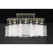 PLC Lighting Carilon 10 Light Semi Flush Mount