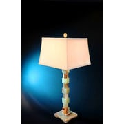 Lex Lighting Chartreuse 33'' H Table Lamp with Rectangular Shade