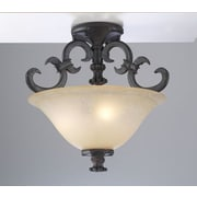 PLC Lighting Lexington Semi Flush Mount