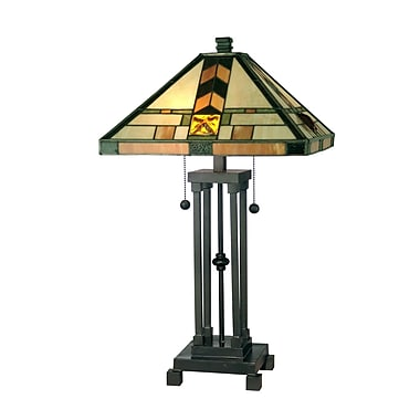 Dale Tiffany Mission 25.25'' Table Lamp