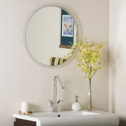 Decor Wonderland Frameless Beveled Karnia Wall Mirror
