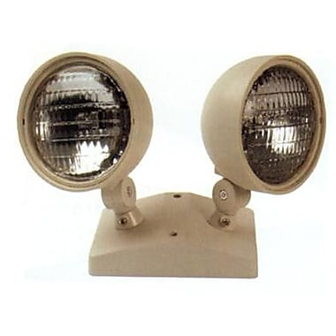 Morris Products Dual Round Head Remote Emergency Light