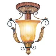 Livex Lighting Villa Verona 1 Light Semi Flush Mount