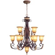 Livex Lighting Villa Verona 10 Light Chandelier