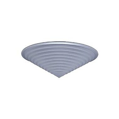 PLC Lighting Nuova 20'' Flush Mount; Polished Chrome