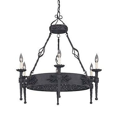 Designers Fountain Alhambra 6 Light Candle Chandelier