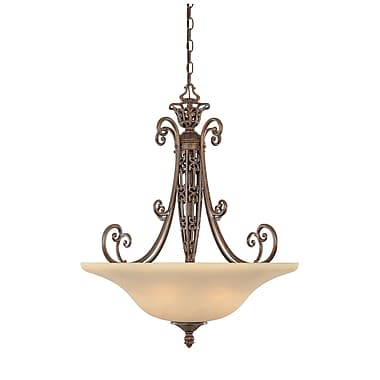Designers Fountain Amherst 3-Light Inverted Pendant