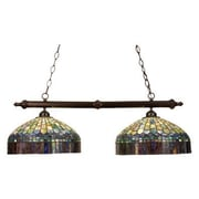 Meyda Tiffany Tiffany Candice 2 Light Pool Table Light