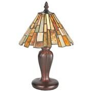 Meyda Tiffany Jadestone Delta Mini 13'' H Table Lamp with Empire Shade
