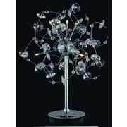 Elegant Lighting Iris 22'' H Table Lamp with Novelty Shade