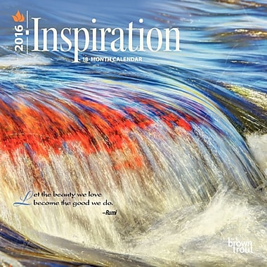 2016 BrownTrout Publishers 12-Month Wall Calendar, Inspiration, 7