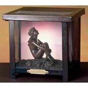 Meyda Tiffany Maxfield Parrish 8.5'' H Table Lamp with Novelty Shade