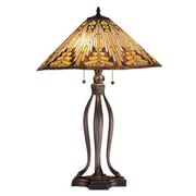 Meyda Tiffany Nuevo Mission 31'' H Table Lamp with Cone Shade