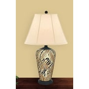 JB Hirsch Garden 27'' H Table Lamp with Empire Shade