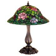 Meyda Tiffany Rosebush 20'' Table Lamp