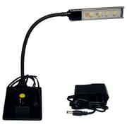 Clear Sound Corp LED Piano Task Reading Lectern TSA Clerical Adjustable Lamp 2.5'' H