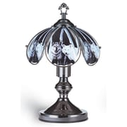ORE Furniture Wolf Touch 14.25'' H Table Lamp with Bowl Shade